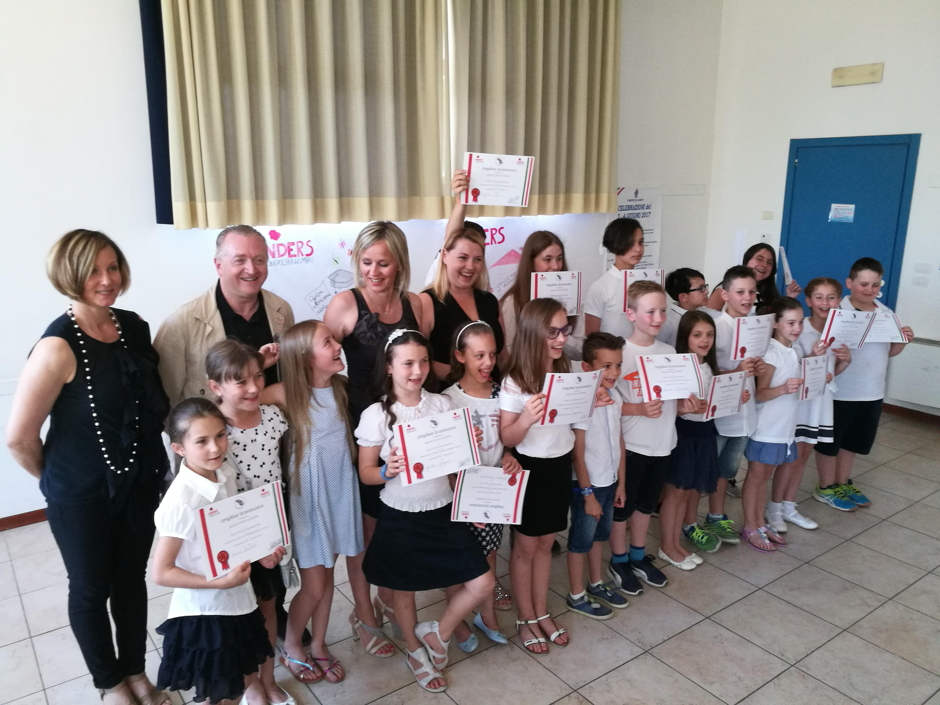 Scuola Anders Umbria Festa di Fine Anno