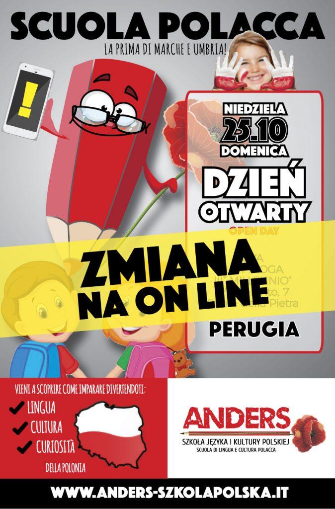Scuola Polacca Perugia locandina Open Day